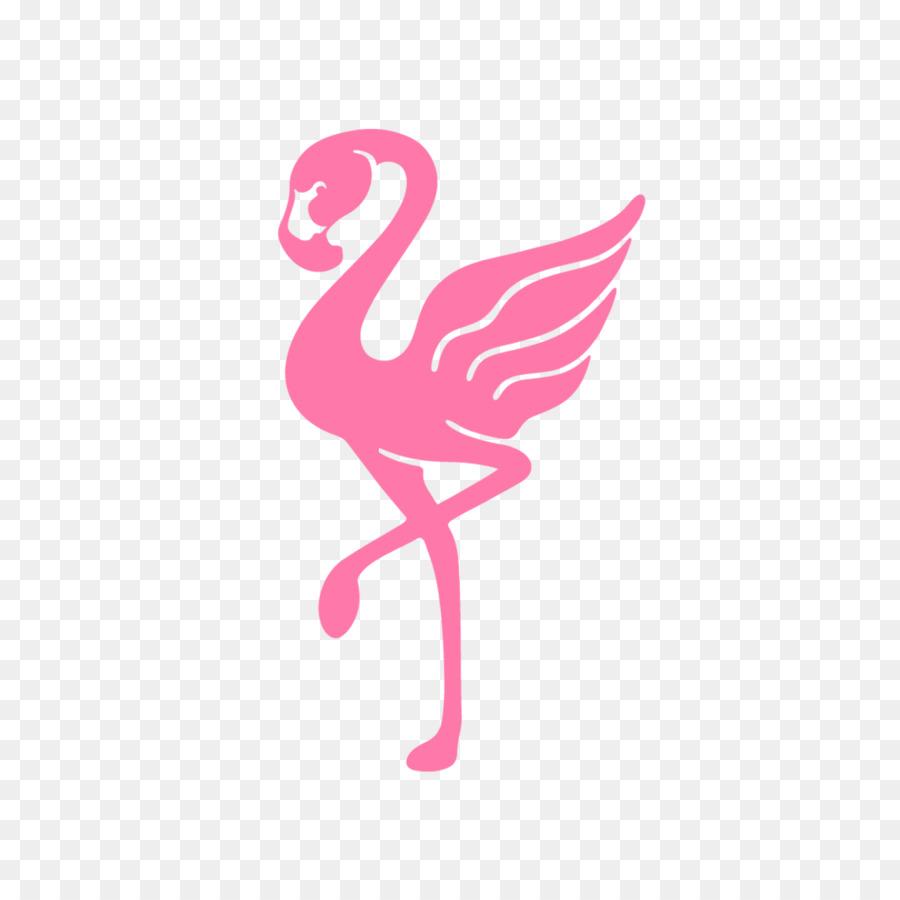 Flamingo logo tshirt pink png