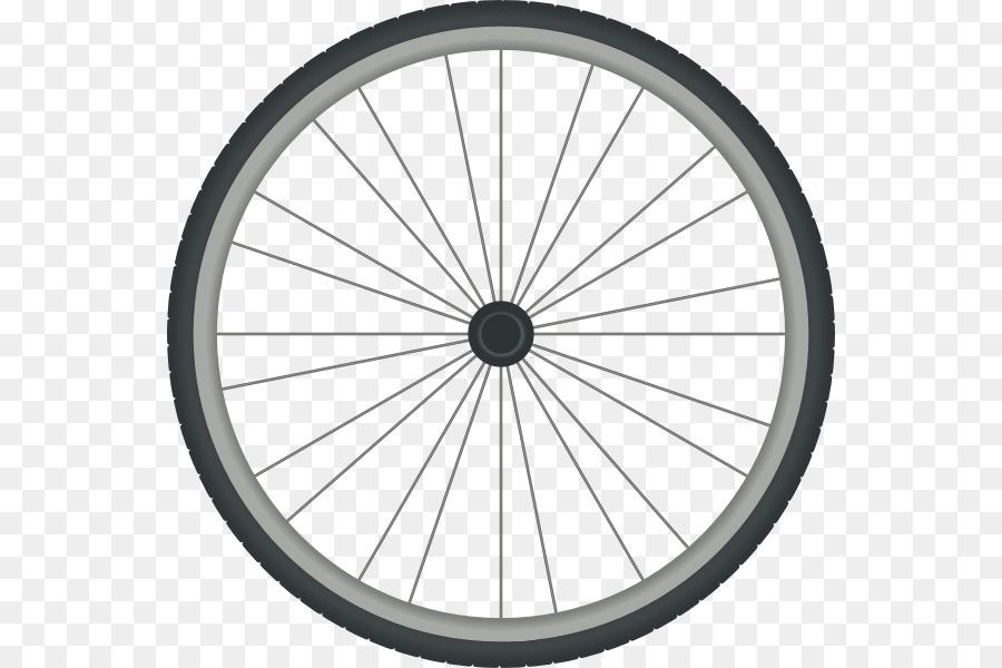 Ruedas de bicicleta libro de Colorear para Ruedas de Bicicletas Clip ...