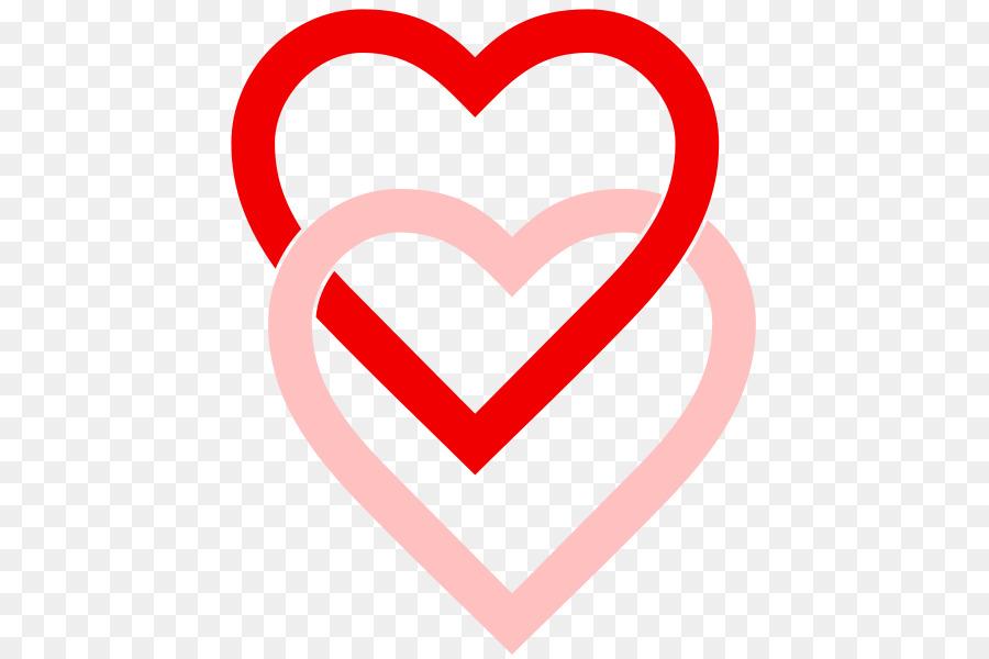 Love Hearts Symbol Clip Art Linked Hearts Images Png Download