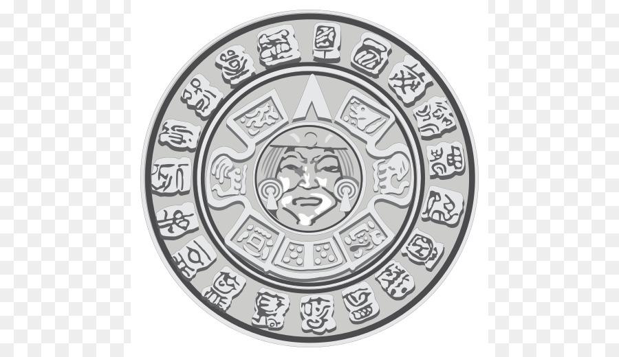 Maya Civilization Mesoamerican Pyramids Mayan Calendar Clip Art