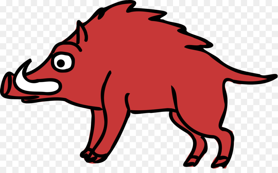wild boar clip art boar png download 2500 1518 free rh kisspng com wild boar clipart black and white