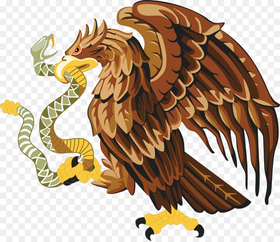Mexico Snake Bald Eagle Clip Art Eagle Png Download 4000 3453