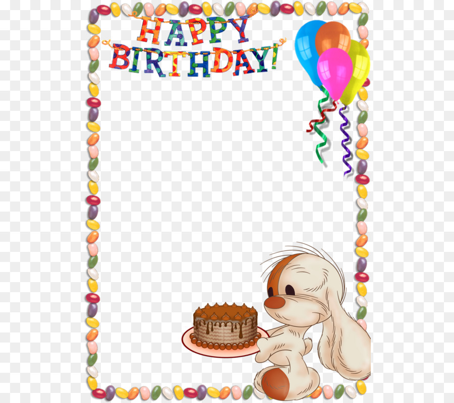 Happy Birthday to You Picture Frames Clip art - Free Birthday Frames ...
