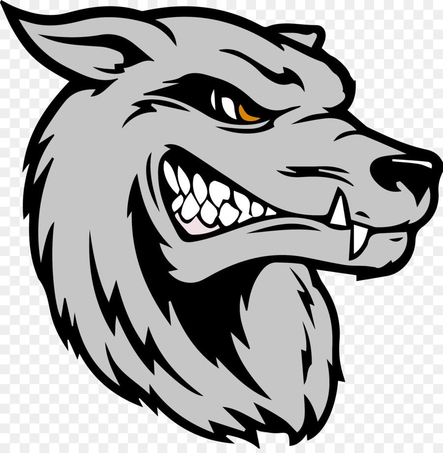 Dog wall decal bumper sticker wolf