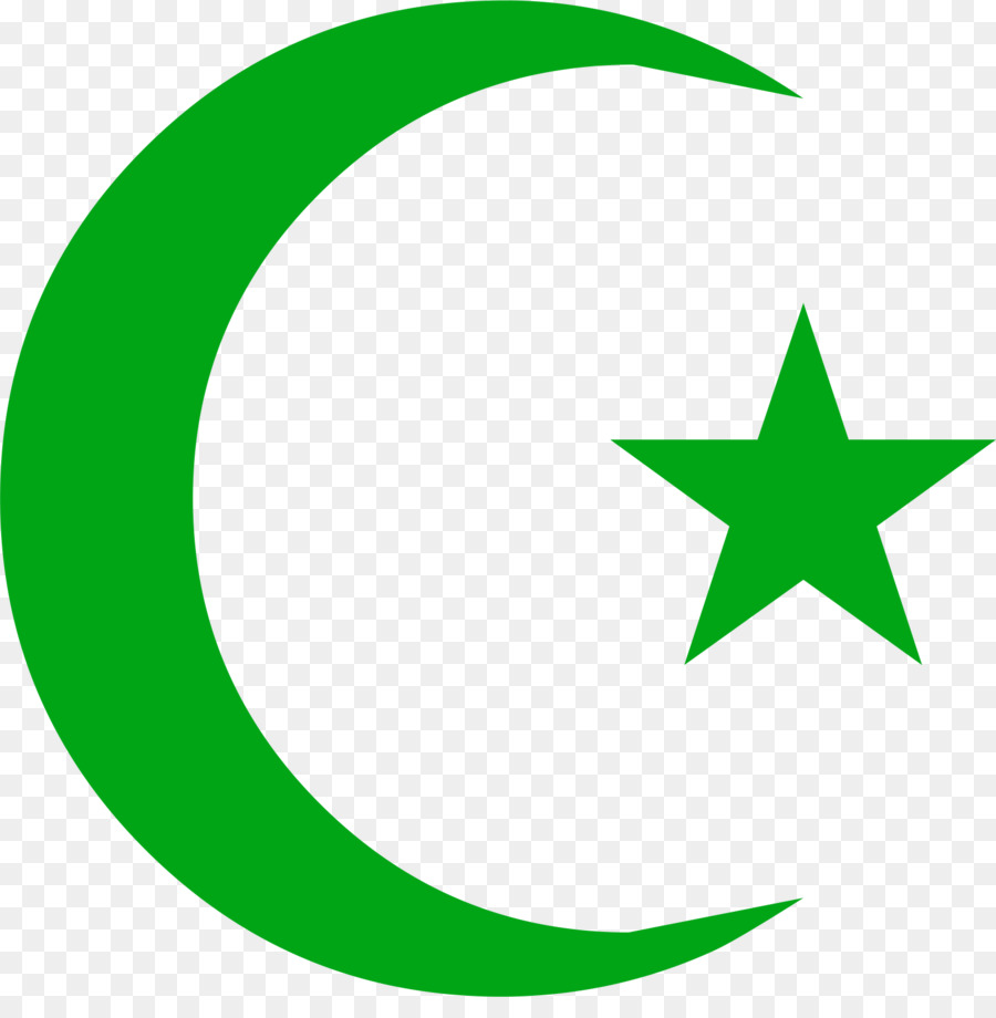 Symbols Of Islam Star And Crescent Moon And Star Png Download