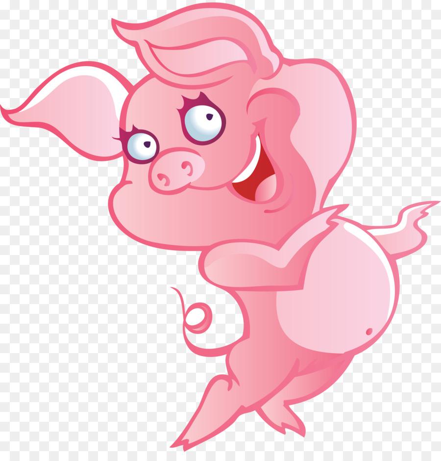 Cerdo doméstico Miss Piggy libro para Colorear, imágenes ...