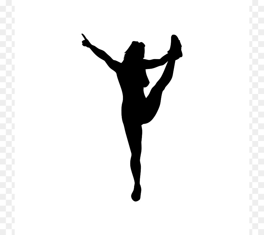 silhouette cheerleading download clip art heel stretch cliparts rh kisspng com cheerleader clipart free cheerleader clipart images free