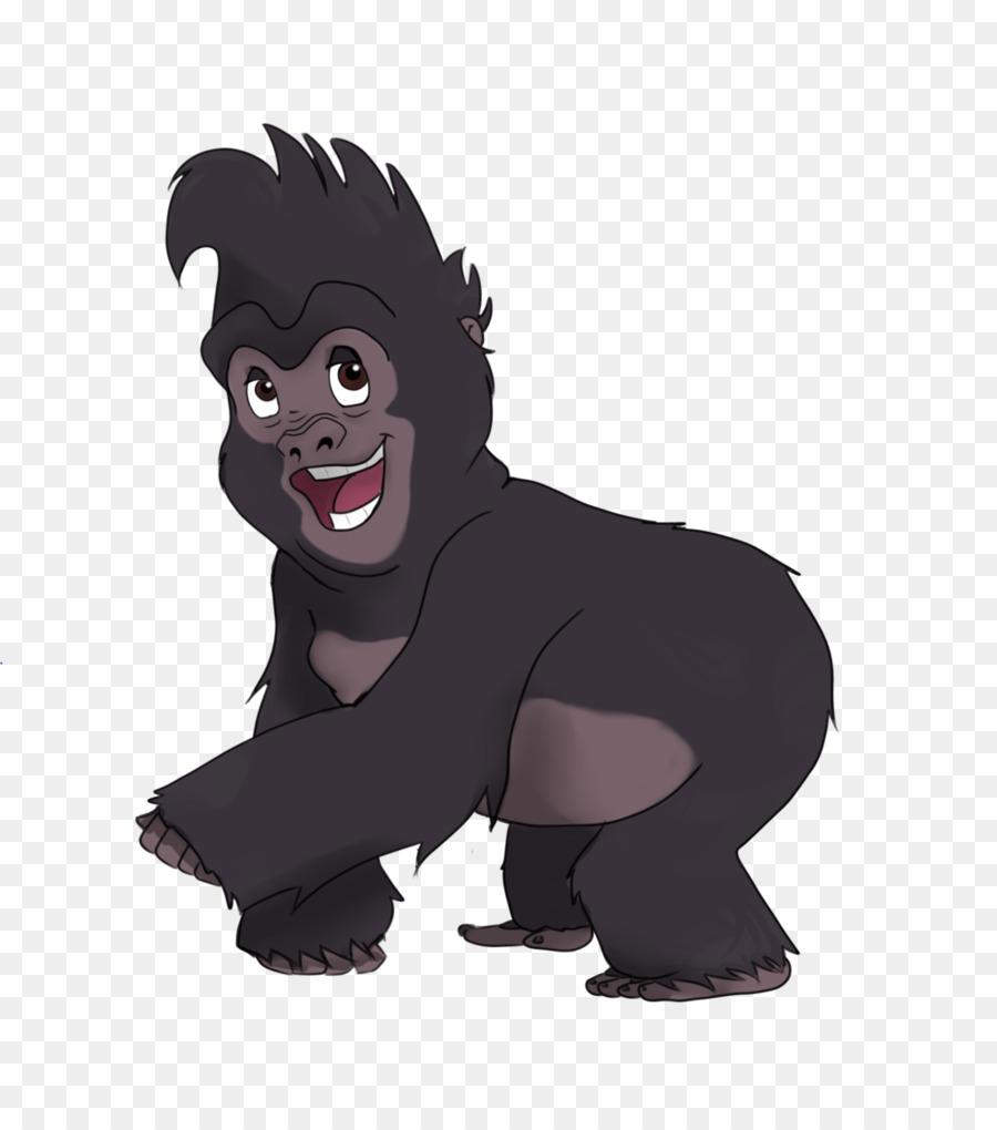 Terk tantor the walt disney company film tarzan gorilla png download 1024 1147 free - Tarzan gorille ...