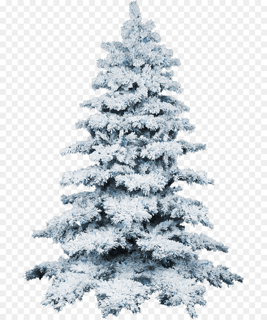 Artificial Christmas tree Flocking Snow - icicles