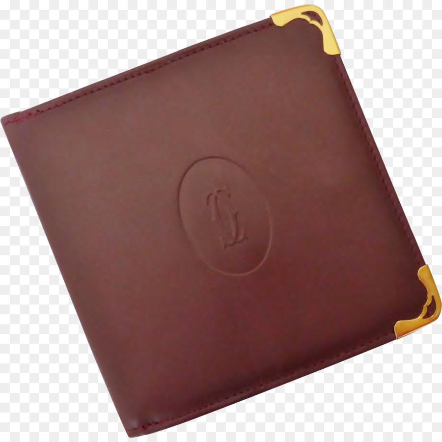 0fd72a6148a Carteira De Couro Cartier Borgonha Acessórios De Vestuário - carteiras