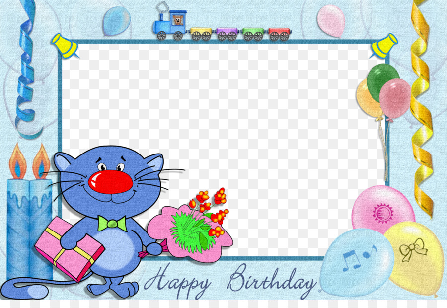 Birthday Cake Birthday Photo Frame : Photo Editor Collage Maker Picture  Frames Clip Art   Birthday Frame