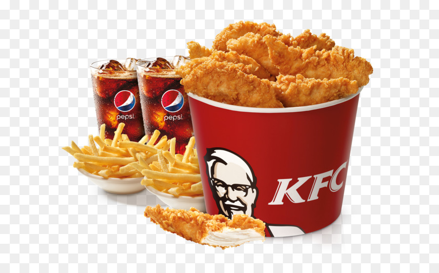 Fast Food French Fries Onion Ring Kfc Chicken Nugget Bucket Png