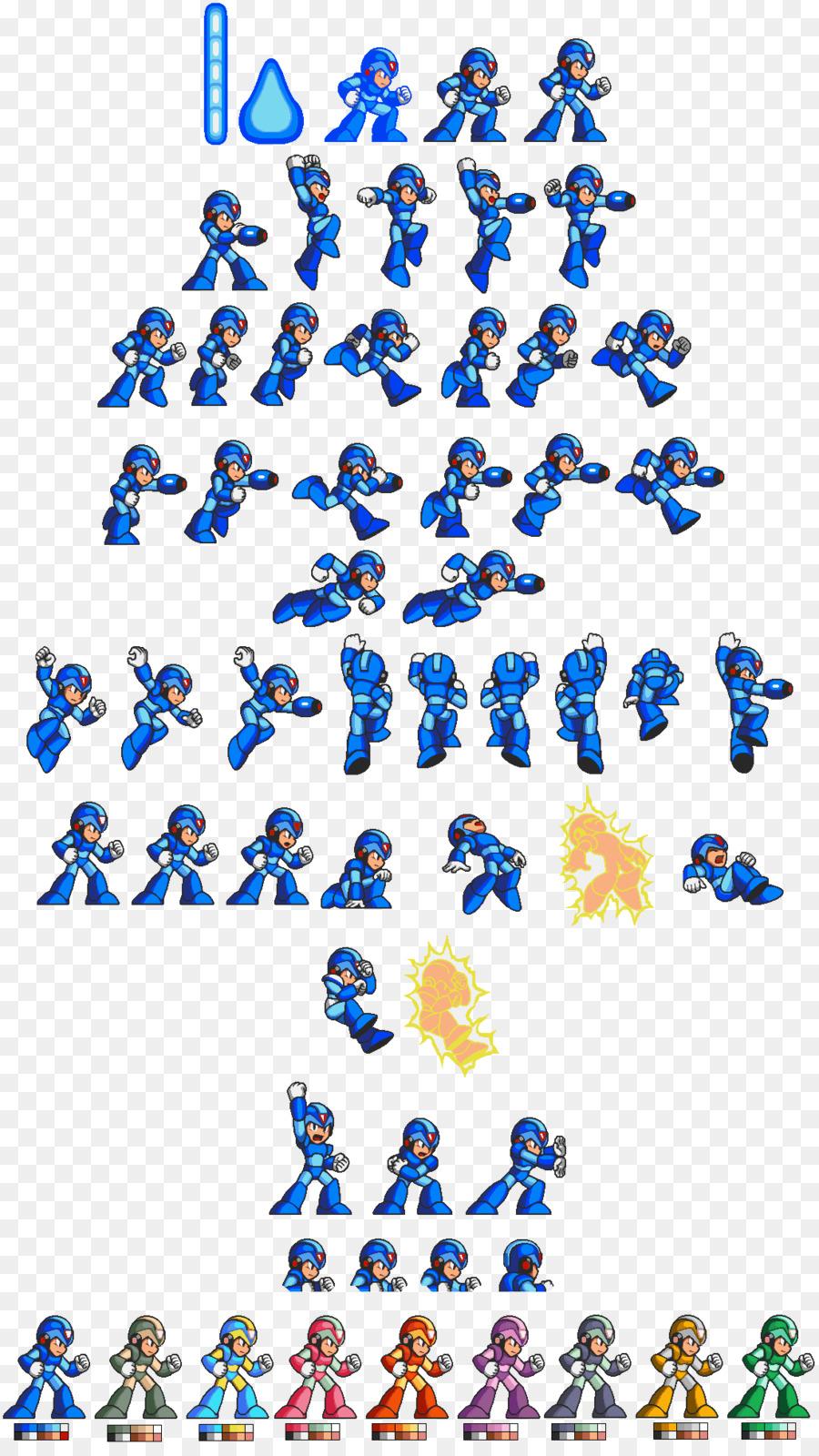 Mega Man X Sprite Game Sprite Png Download 1108 1952