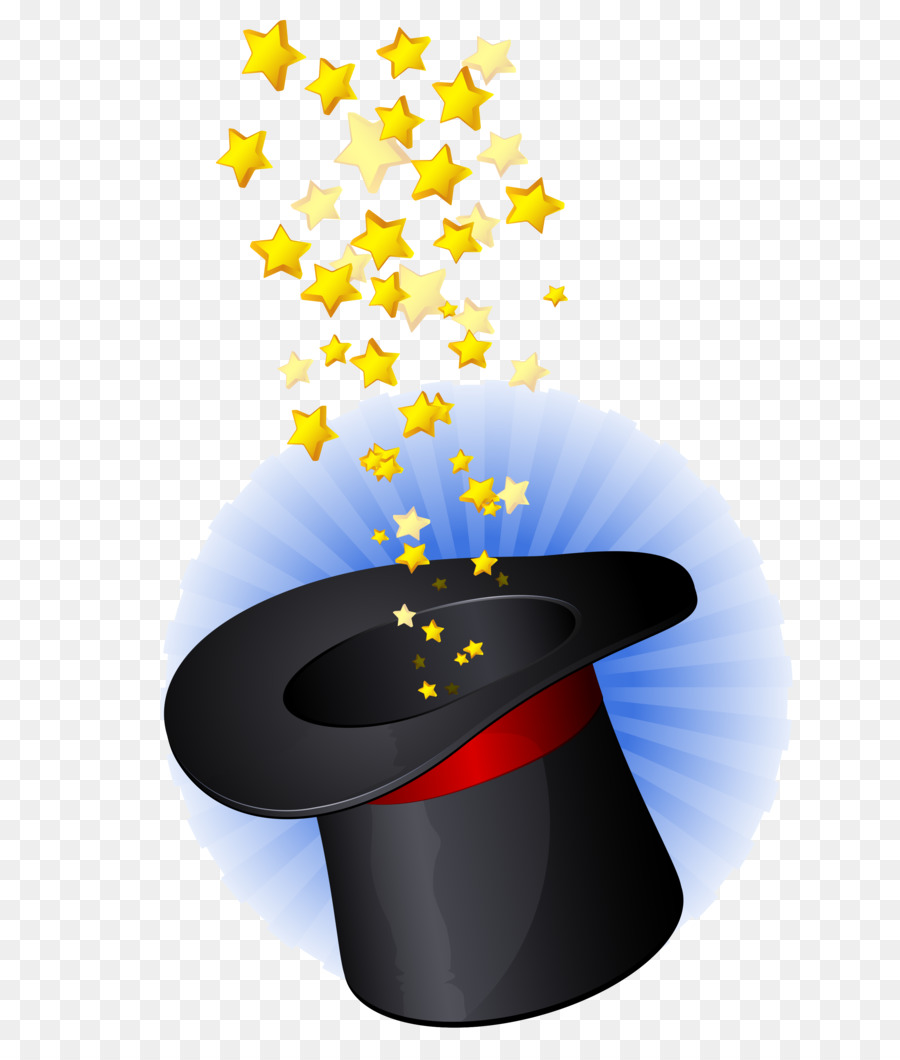 Magic Hat Graphic design Wand - hats png download - 3000*3498 - Free ...