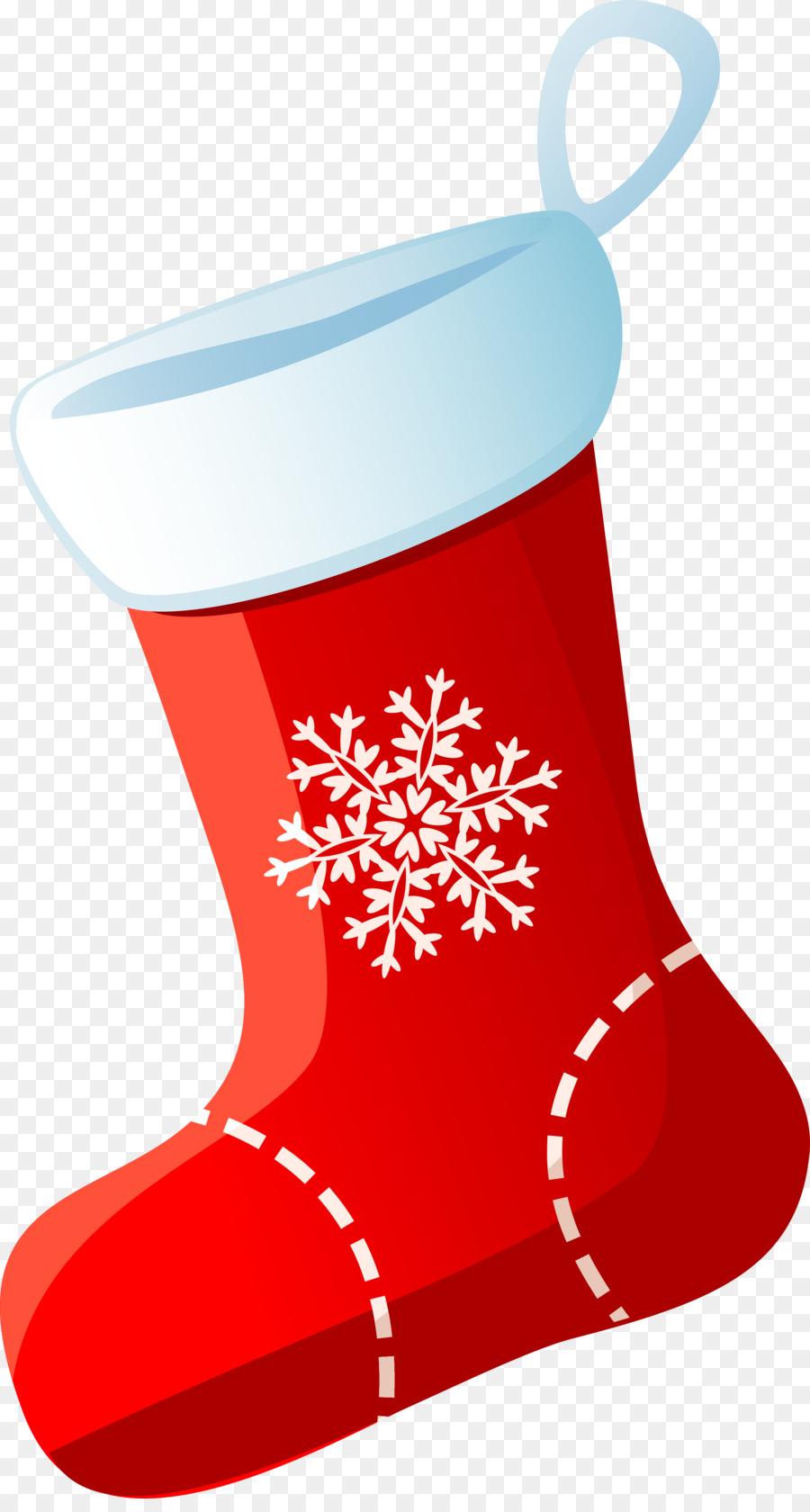 Weihnachten Strümpfe Socke Clip art - Socken png herunterladen ...