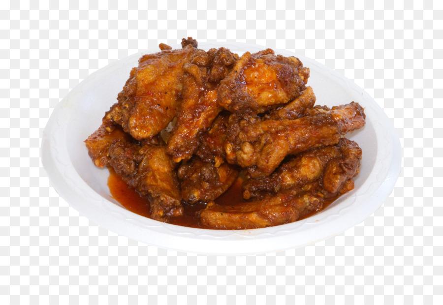Uncle Lous Fried Chicken Buffalo Wing The Bar B Q Shop Fried