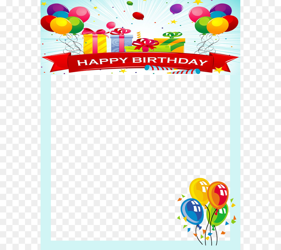 Birthday Picture Frames Android Clip art - Birthday Frame png ...