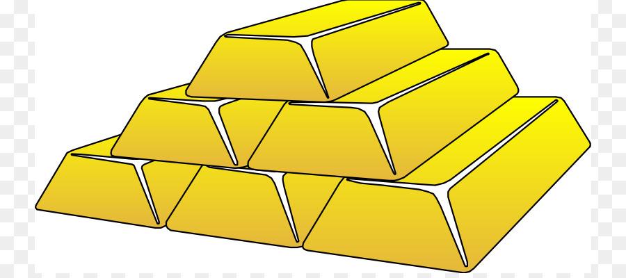 Gold Bar Metal Clip Art
