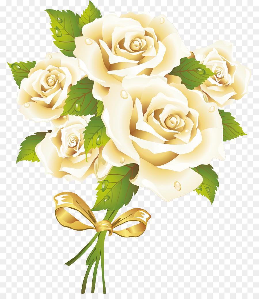 Rose Flower Nosegay White Roses Png Download 8491024 Free