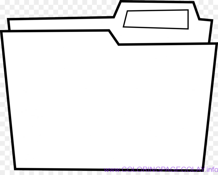 File Folders Directory Computer Icons Clip art - Open Book Colouring ...