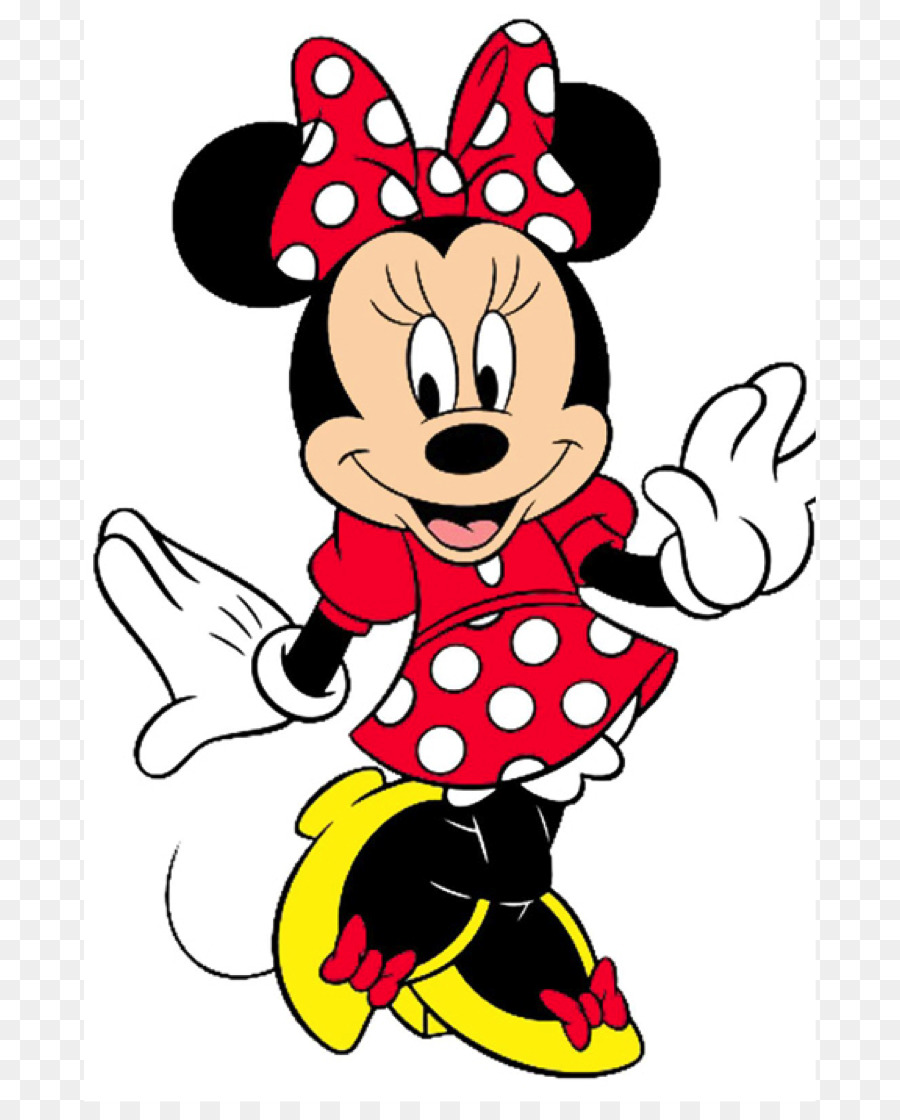 Minnie Mouse Mickey Mouse Clip Art Mini Png Download 7321102