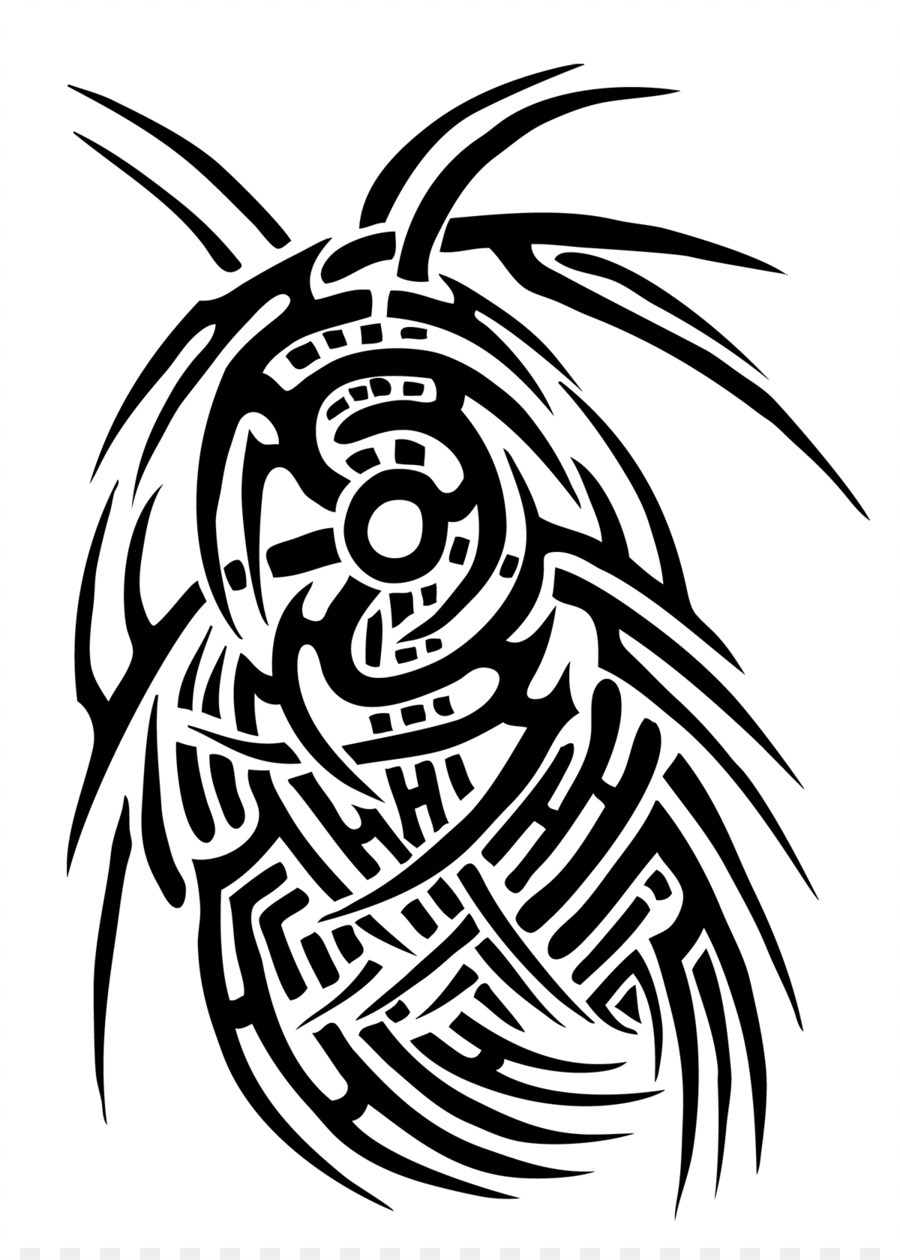 4e4af06f2fa58 Tribe Tattoo Crow Nation Line art Clip art - Tribal Crow Tattoo ...