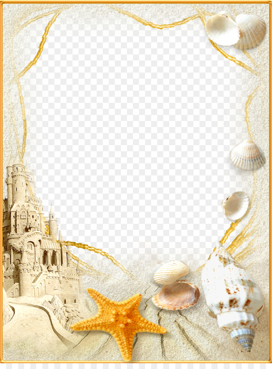 Beach Picture Frames Clip art - sand png download - 959*1280 - Free ...