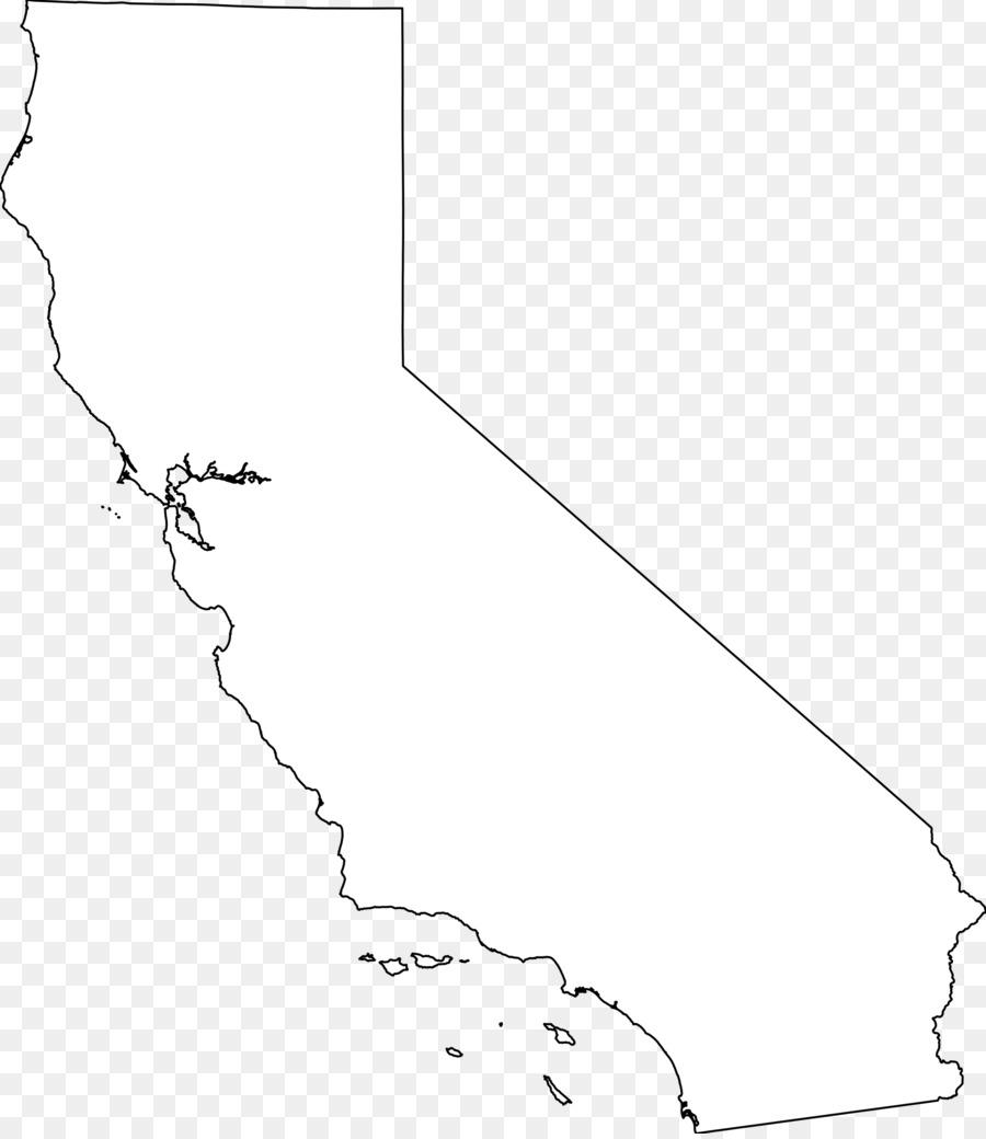 California Republic Blank map Clip art California Outline png