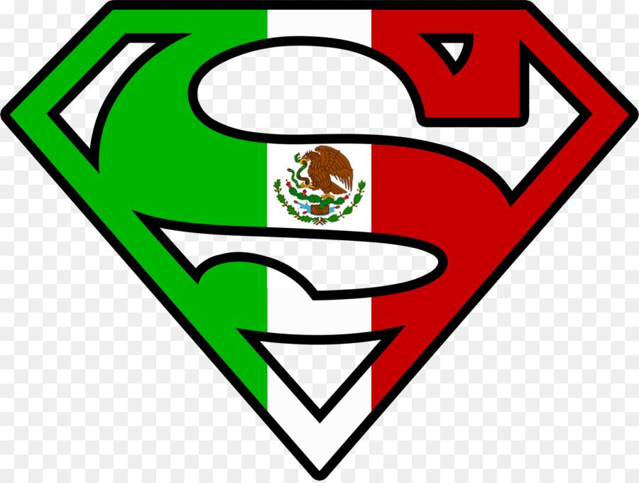 Superman Logo Sticker Clip Art Mexican Logo Cliparts Png Download