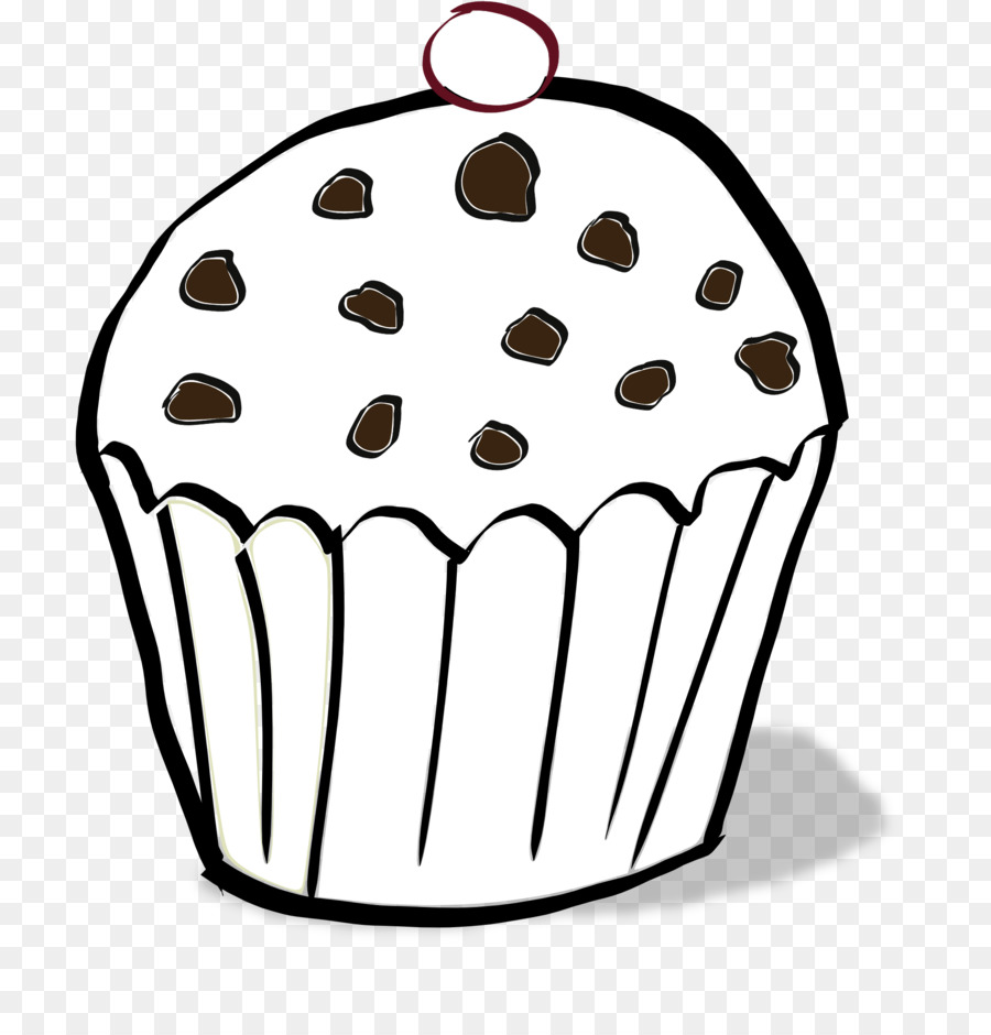 Muffin inglés de Cupcake de Chocolate chip cookie libro para ...