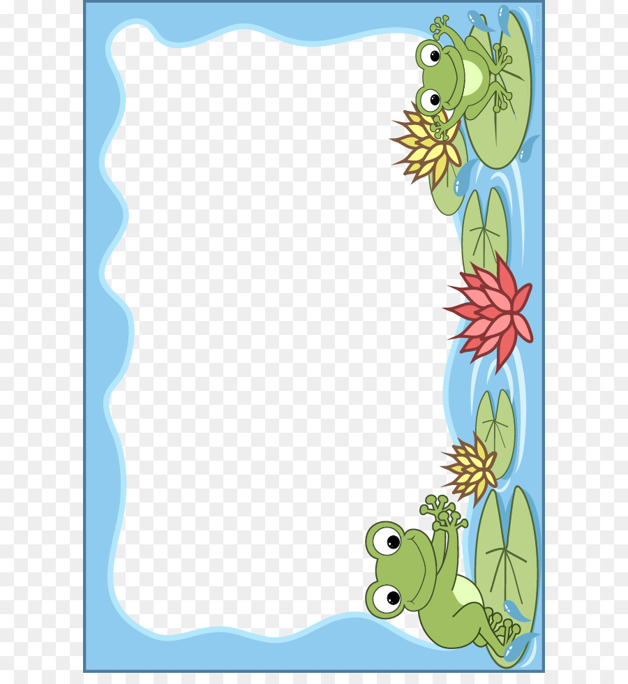 Frog Picture Frames Scrapbooking Stock photography Clip art - School ...
