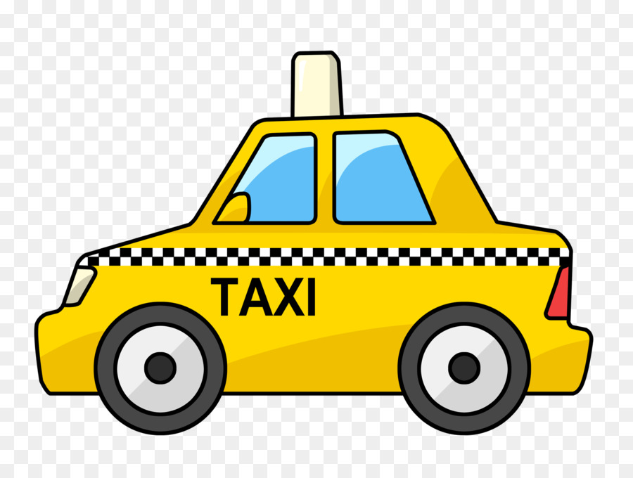 Classic taxi stock vector. Illustration of vector, vehicle ... |Yellow Taxi Cab Drawing