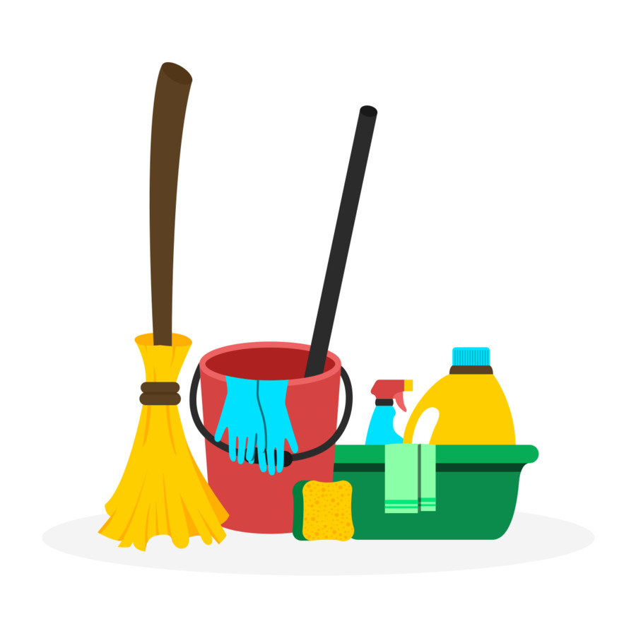 spring cleaning cleaner maid service domestic worker bucket png