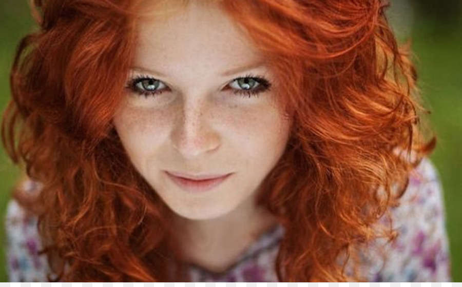 Red Hair Eye Color Hairstyle Ginger Png Download 1280783 Free