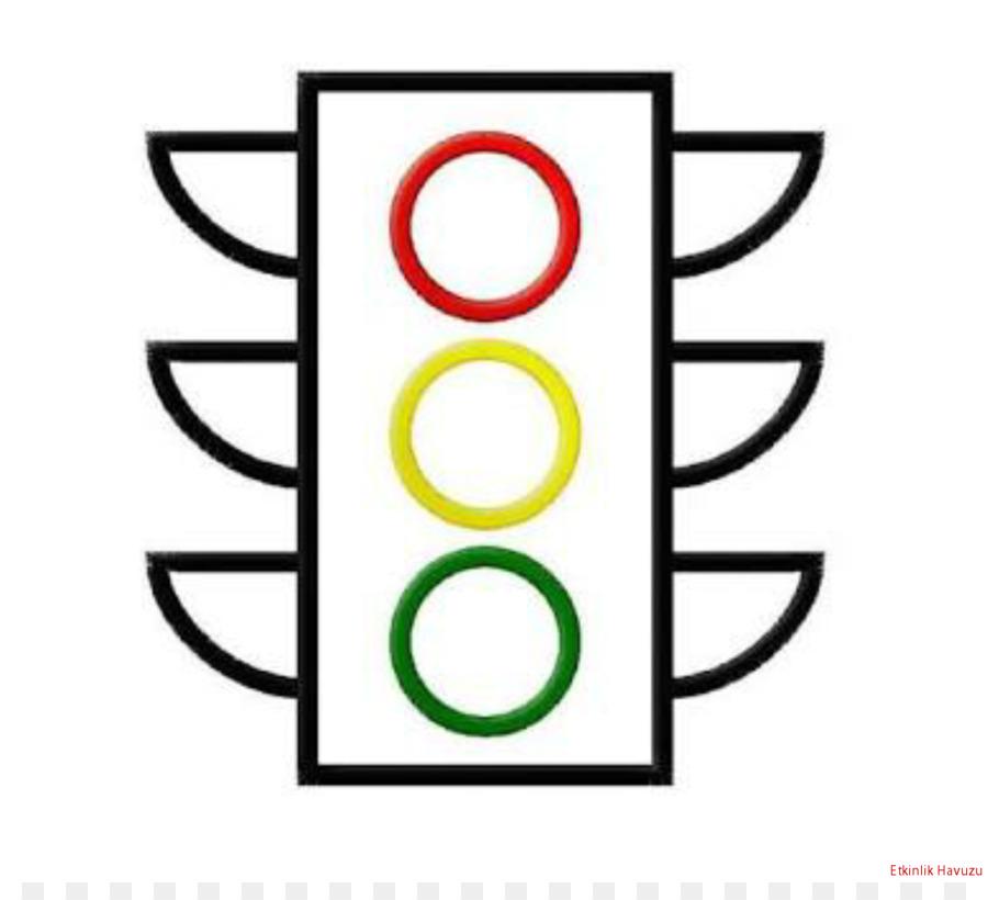 Semáforo libro para Colorear señal de Stop Clip art - semáforo png ...