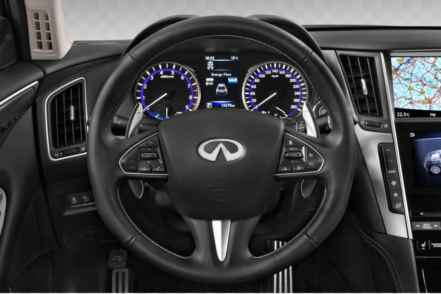 2017 Infiniti Q50 Hybrid Car Steering Wheel