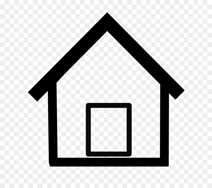 House Drawing Computer Icons Clip art - Simple Home Cliparts png ...