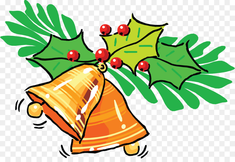 Christmas card Greeting & Note Cards New Year Spanish - bell png ...