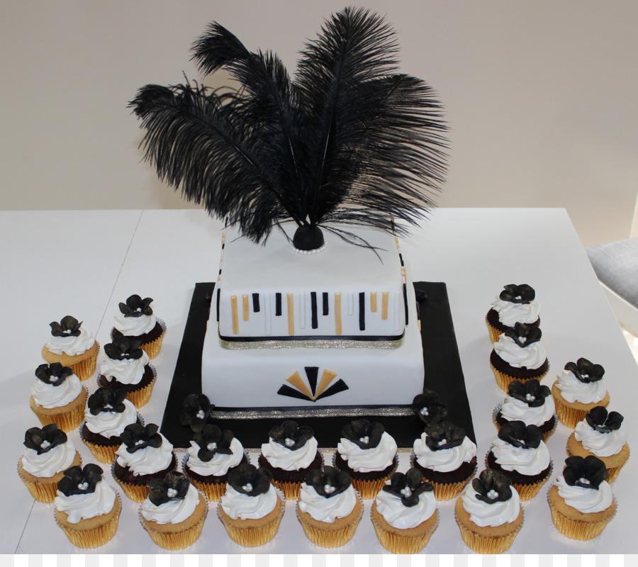The Great Gatsby Wedding Cake Cupcake Dessert Wedding Cake Png