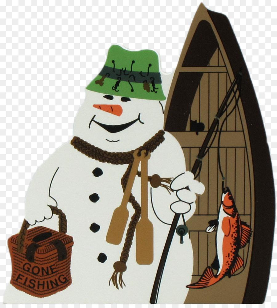 Schneemann Eisangeln Weihnachten Clip-art - Angeln Schneemann ...