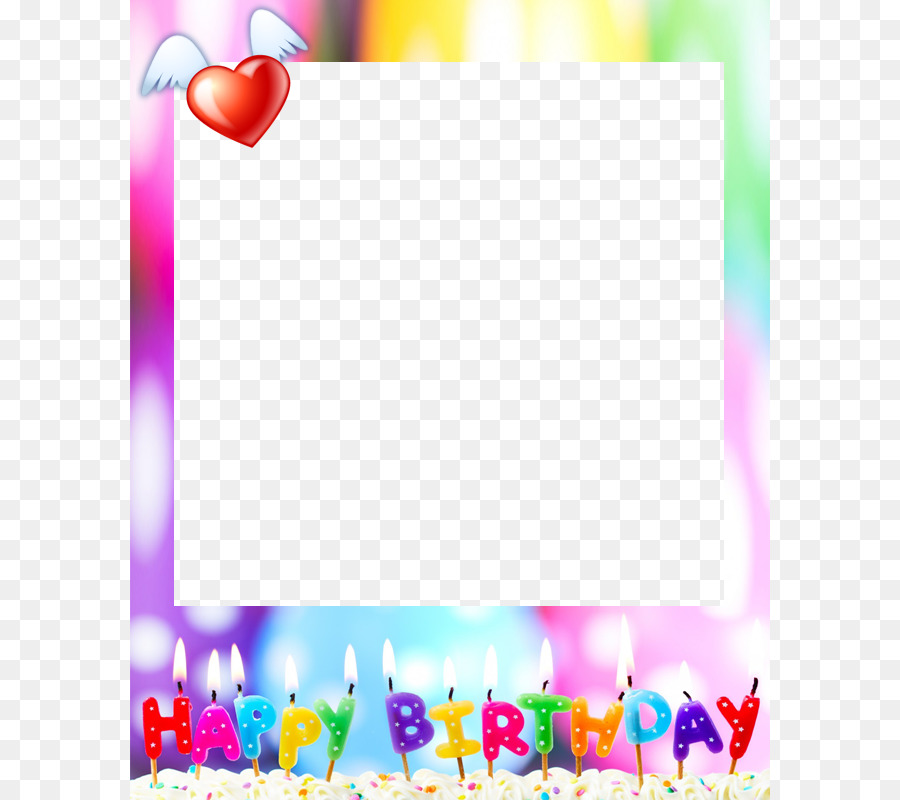 Birthday Cake Happy Birthday To You Party Wish Birthday Frame Png