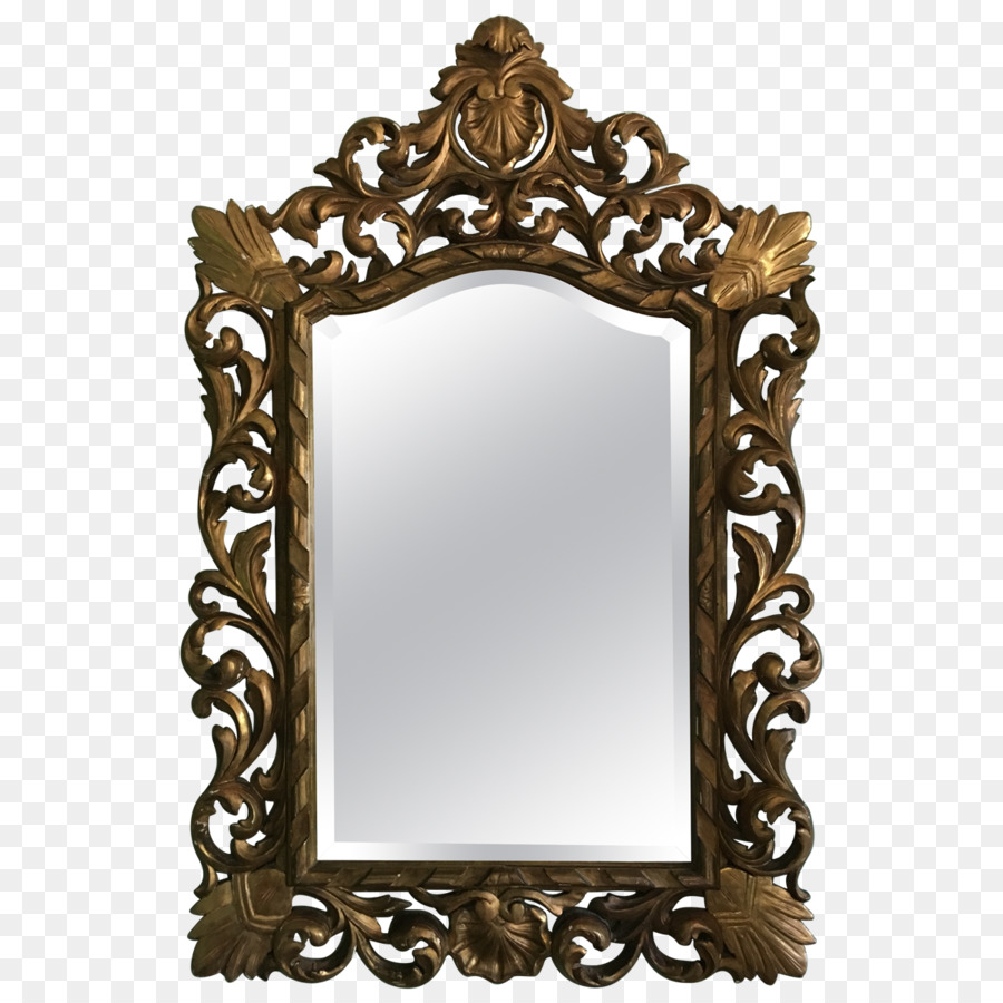 France Mirror Picture Frames Rococo Drawer - mirror png download ...