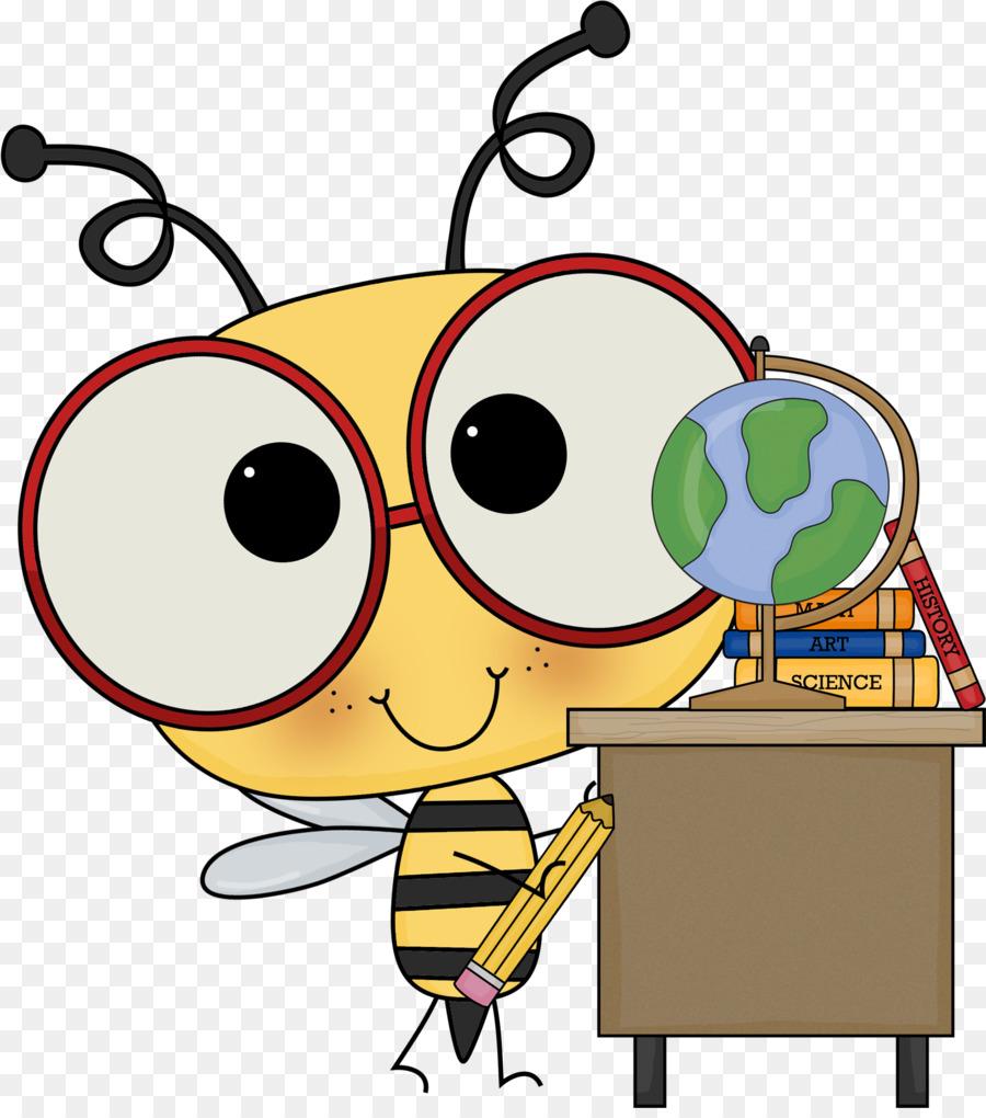 bee elementary mathematics school clip art schoolnotes 2