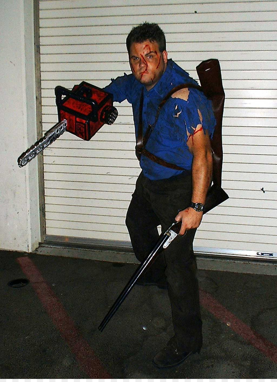 lollipop chainsaw ash williams halloween costume game chainsaw