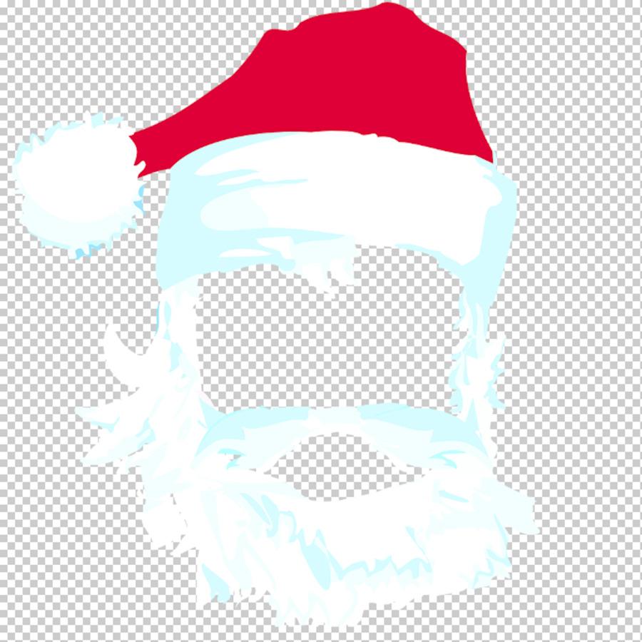 how to make a santa beard