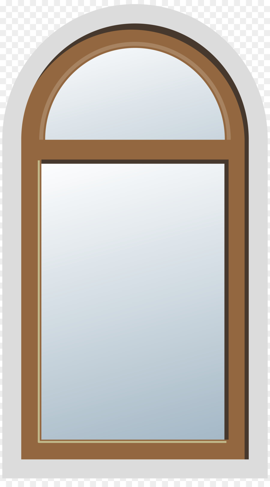 Window Door Picture Frames Arch Clip art - window png download ...