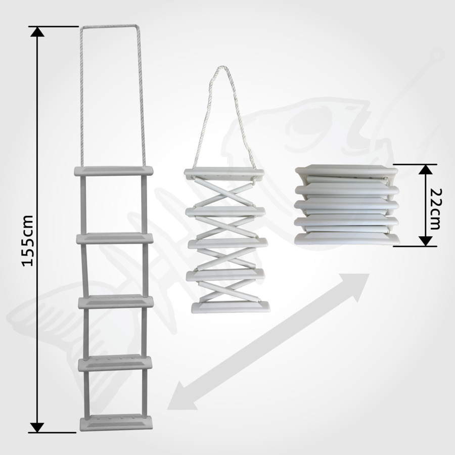 Ladder Wire rope Boat Stairs - ladder png download - 1600*1600 ...