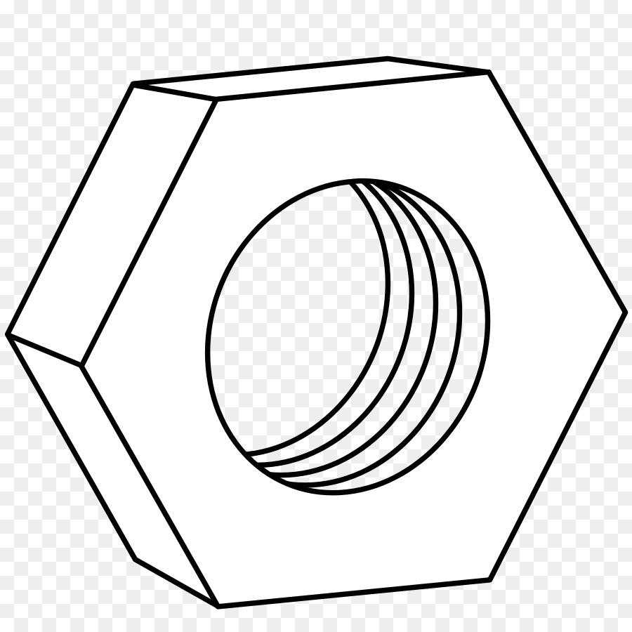 Tuerca Tornillo Clip art - tornillo Formatos De Archivo De Imagen ...