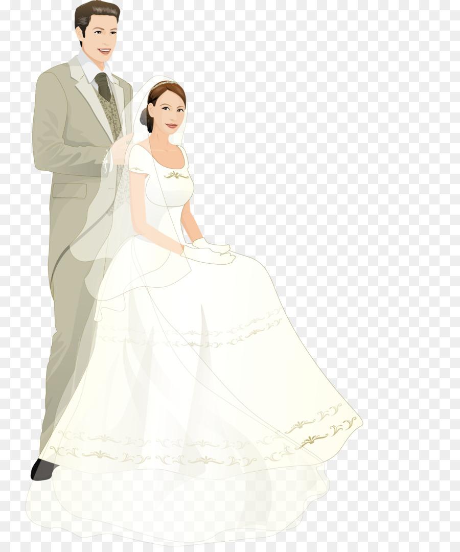 Wedding invitation Bride Marriage - groom png download - 800*1069 ...