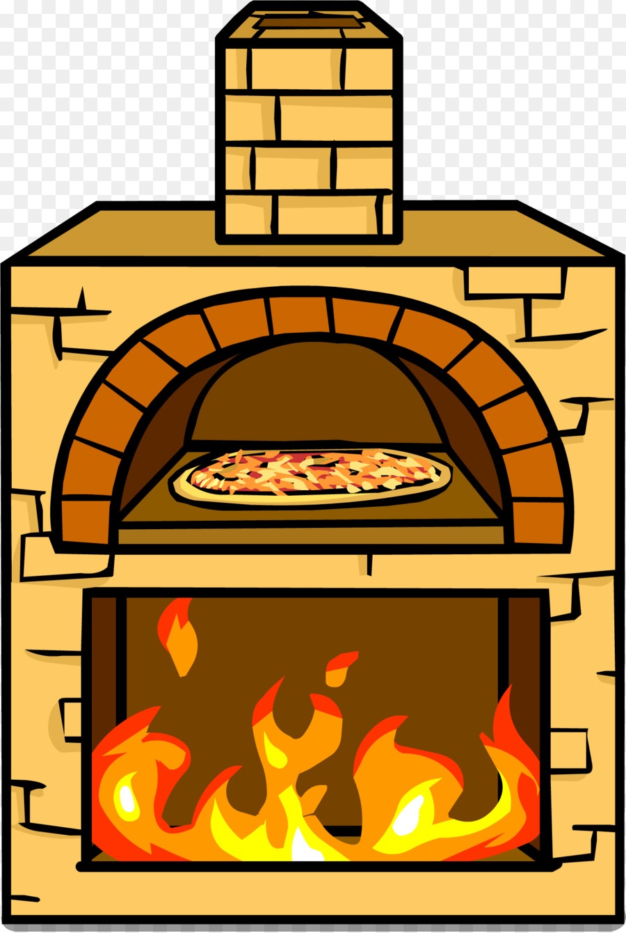 Club Penguin Pizza Igloo Wood Fired Oven Stove Png Download 1398 Rh Kisspng Com Burning Clipart
